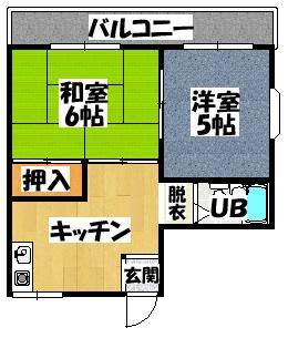 【シャトーエクセリア】間取図面