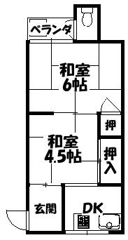 【内生蔵文化・八雲東町】間取図面