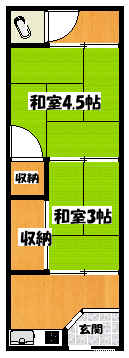 【高橋文化・石原町】間取図面