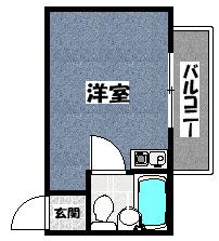 【トキワパレス】間取図面