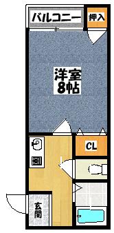 【ビバーチェミキ】間取図面