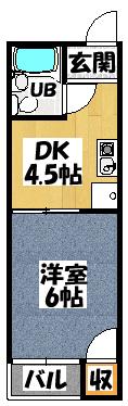 【野口マンション】間取図面
