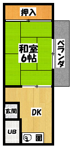 【京橋ビル】間取図面