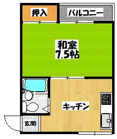 【プレジュールみゆき】間取図面