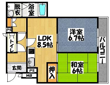 【アネックスワールド】間取図面