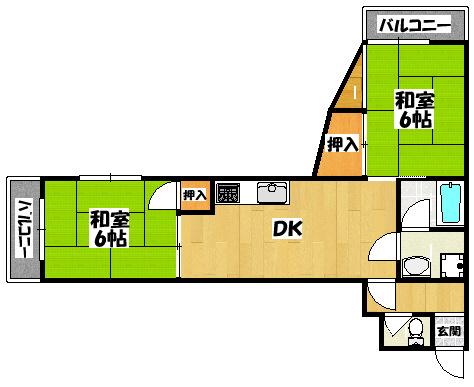 【ハウスN1】間取図面