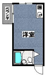【サンライズ阪上】間取図面