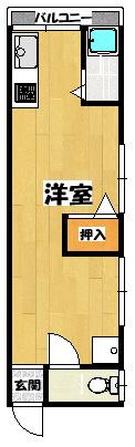 【東栄・石原ハイツ】間取図面