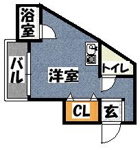 【サニーハイム】間取図面