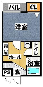 【NAVI古川橋】間取図面