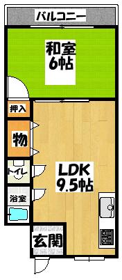 【ニタカビル】間取図面