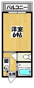 【ロータリーM藤田町】間取図面