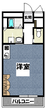 【ブランリス古川橋】間取図面