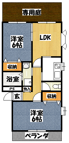 【エテルノⅡ】間取図面