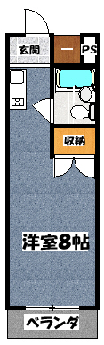 【ユニハイム木村】間取図面