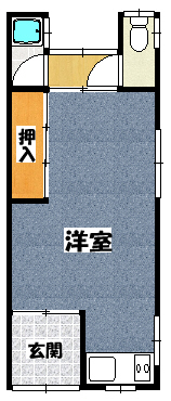 【塩津平屋】間取図面