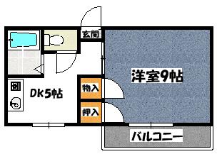 【エクセル大日】間取図面
