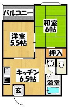 【サンファミリーⅡ】間取図面