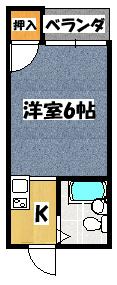 【バードヒル古川橋】間取図面