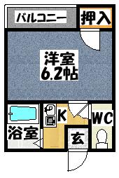 【Mプラザ西三荘駅前】間取図面