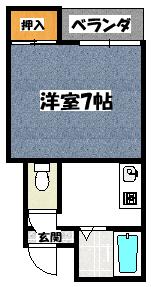 【シャネル大池】間取図面