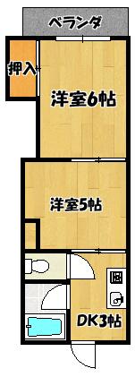 【東マンション】間取図面