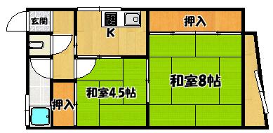 【金津文化】間取図面