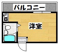 【プラディオ梶町】間取図面