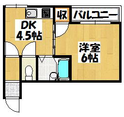 【エクセル古川橋】間取図面