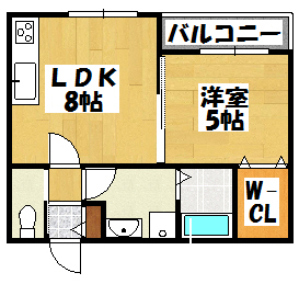 【メゾングランツ(Bタイプ)】間取図面