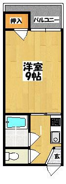 【カトレヤ】間取図面