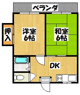 【エトワール新橋】間取図面