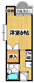 【MIROハイツ】間取図面