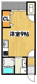 【福建第二ビル】間取図面