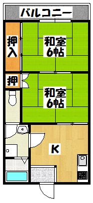 【シャルム元町】間取図面