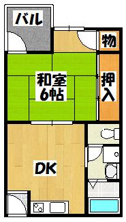 【パークサイド古川橋】間取図面