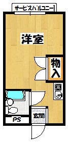 【シャロン城北】間取図面