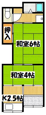 【吉村平屋】間取図面