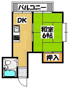【ベルメゾンM】間取図面