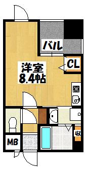 【サンティール大和田】間取図面