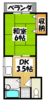 【幸陽ビル】間取図面