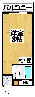 【コーポラスフォーシーズン】間取図面