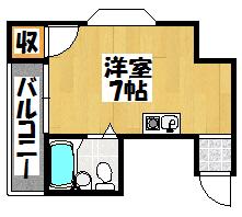 【ヒカリハイム302】間取図面