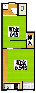 【七福文化2F_石原町21-20内外写真なし】間取図面