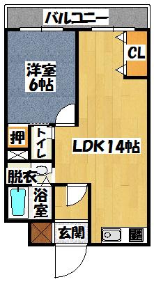【コンフォートSEKI】間取図面