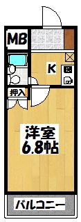 【セオラー守口】間取図面