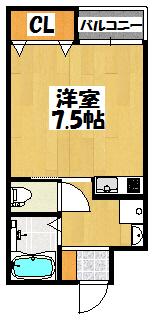 【レユシール門真】間取図面