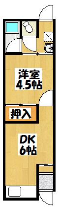 【大日町平屋】間取図面