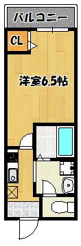 【フィオレンテ栄町】間取図面