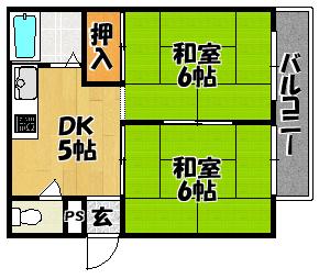 【サンライズ石原】間取図面